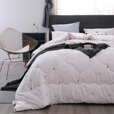 新疆棉花被13372纯棉面料棉花被芯棉絮全棉冬被学生宿舍被子 150x200cm(4斤) 乐趣