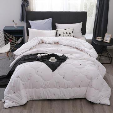 (总)新疆棉花被13372纯棉面料棉花被芯棉絮全棉冬被学生宿舍被子