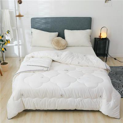 2020(总)新疆棉花被13372纯棉棉花被芯棉絮全棉冬被学生宿舍四季被子 150x200cm(4斤) 棉花朵