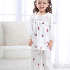 拼接樱桃3色(儿童) XL 白色