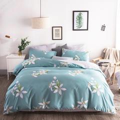 2018新款 13372北欧风原创纯棉四件套 2.0m床 床单款 蜕变