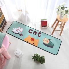 多功能长条地垫 50*150cm 可爱猫咪