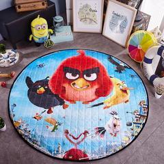 圆形收纳垫 直径150厘米 愤怒小鸟