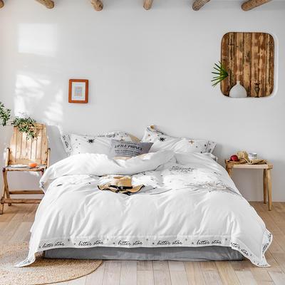 2019新款60长绒棉刺绣四件套 1.8m(6英尺)床 太阳神