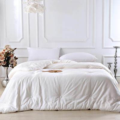 铂金大豆暖阳被 冬被 被子 被芯 春秋被150×200cm3.6斤 大豆白色