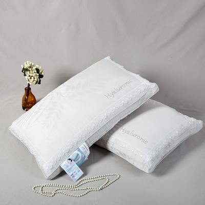 2019新款 -玻尿酸有氧美肌枕(整张棉填充) 妮灰/只