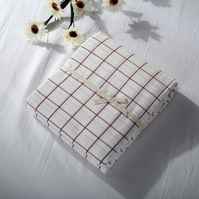 2019新款水洗棉单品系列 水洗棉单品被套 120x150cm 初春格