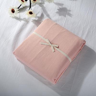 2019新款水洗棉单品系列 水洗棉单品被套 120x150cm 蜜粉色