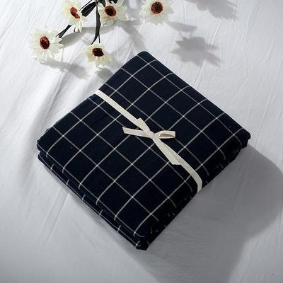 2019新款水洗棉单品系列 水洗棉单品被套 120x150cm 暖冬格