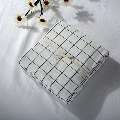 2019新款水洗棉单品系列 水洗棉单品被套 120x150cm 晚秋格