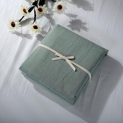 2019新款水洗棉单品系列 水洗棉单品被套 120x150cm 一抹绿色