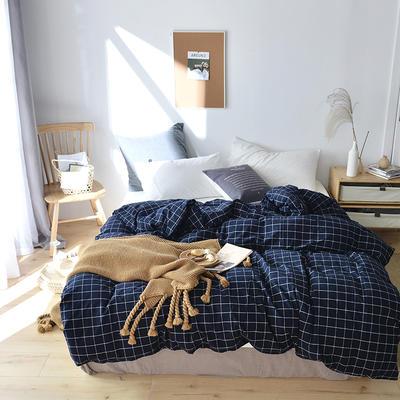 2019新款水洗棉单品被套 120x150cm(婴儿床使用) 暖冬