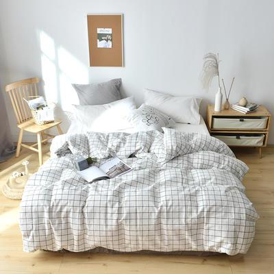 2019新款水洗棉单品被套 120x150cm(婴儿床使用) 晚秋