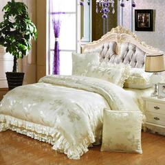 欧式床盖四件套六件套 包装 迷人花香