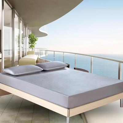2018新款 云母凉感席三件套 日式风格 1.5×2米床 条纹-灰色