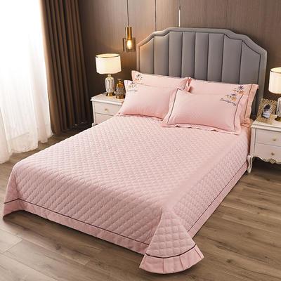 2020新款纯棉刺绣夹棉床盖四件套-单品 200*230cm单被套 红枫-淡雅玉