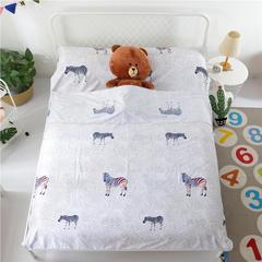 婴童用品 全棉印花睡袋 时尚斑马(160*210cm)