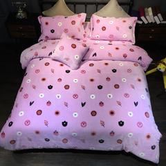 2017暖睡康牛奶棉五件套 1.5m(5英尺)床 可妮兔