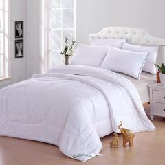 纯棉提花棉花被 150*200cm 白色提花