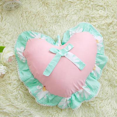 爱心抱枕 爱心枕/个(含芯) 雏菊