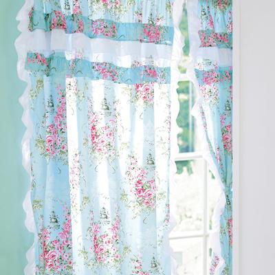 韩版套件小配件-窗帘 爱丁堡玫瑰