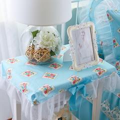 床头柜罩(40*50cm) 伊人花秀蓝