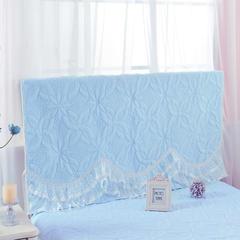 绗缝公主-床头罩 2公主-蓝(1.8m)