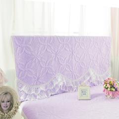 绗缝公主-床头罩 3公主-紫(2.0m)