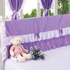 纯棉蕾丝-床头罩(1.8m) 6.紫色迷情