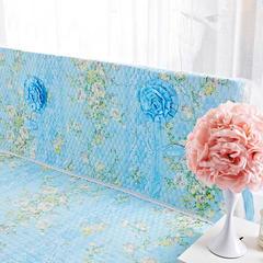 纯棉蕾丝-床头罩(1.8m) 雅典娜蓝