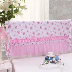 纯棉蕾丝-床头罩(2.0m) 2.粉色佳人
