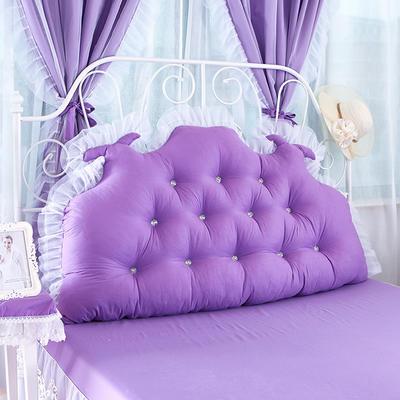 韩式靠枕-龙角加高靠背 1.2米 公主坊紫