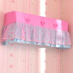 空调罩 其它 波点玫瑰粉