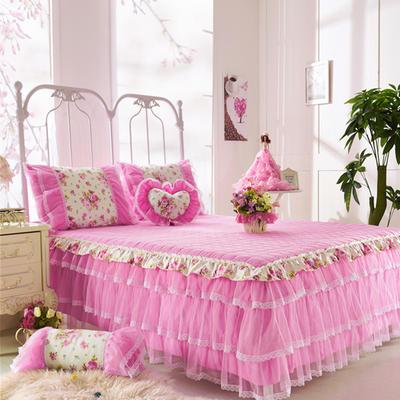 花开沫沫夹棉床裙-花开沫沫 爱心枕(含芯) 花开沫沫