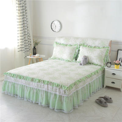 新款夹棉床裙(3款) 1.2米床头罩 清雅之梦夹棉