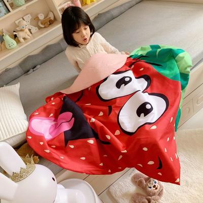 2019Cute纯棉夏被 120x160cm 草莓