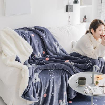 2019新款Chic羊羔绒毯-实拍图 150*200 雪花仙人掌