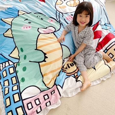 2019新款原创二次元宝宝绒套件 1.2m(4英尺)床单款 友谊奶茶