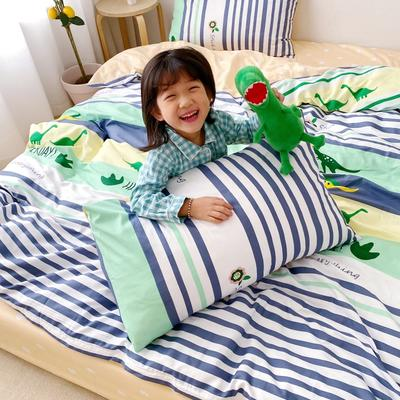 2020新款日系新花色四件套 1.8m(6英尺)床单款 侏罗纪