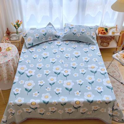 2020新款ins网红床单款冰丝席 230×250cm 冰丝席三件套 满满小花