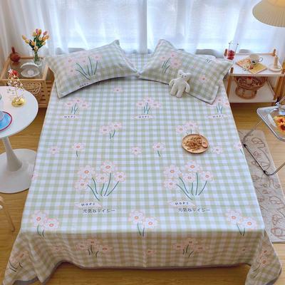 2020新款ins网红床单款冰丝席 230×250cm 冰丝席三件套 元气雏菊