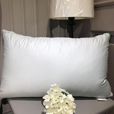 2018新款臻品鹅毛枕 48*74cm 白色