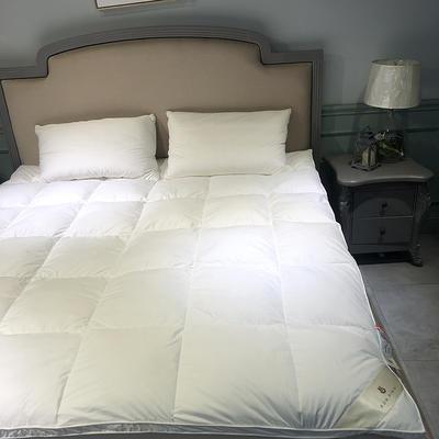 2019新款舒芯羽绒床垫 150*200(3cm)(双层) 白色