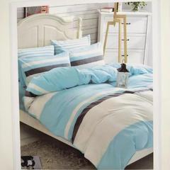 加厚色织水洗棉四件套 标准(1.5m-1.8m床) 东方情致
