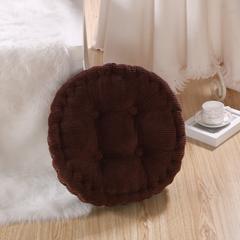 玉米粒坐垫  圆垫 40*40 圆垫-咖啡