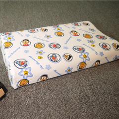 全棉卡通儿童乳胶枕 儿童枕套(44*28) 叮当猫