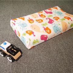 全棉卡通儿童乳胶枕 儿童枕套(44*28) 美人鱼