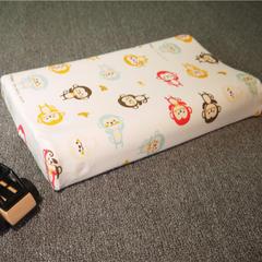 全棉卡通儿童乳胶枕 儿童枕套(44*28) 小猴子