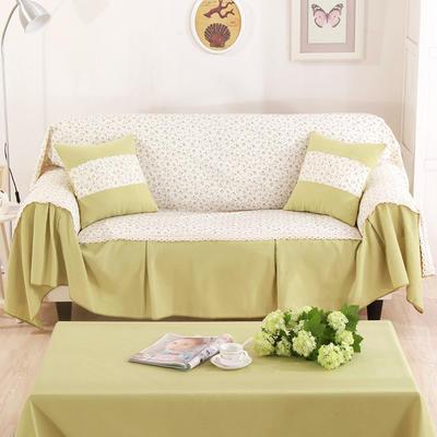 别墅样板房细棉麻全盖沙发巾沙发盖布地中海沙发套 单独右贵妃170*260cm 西西里