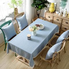 加厚竹节麻桌布茶几布台布长方形正方形可以用 90*90/条 灰韵